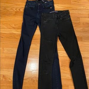 Zara Pants Pack both size USA 2